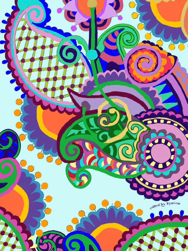 #gdfloralcolorin  It took me 2 days to finish coloring it... Wow that's a really long time