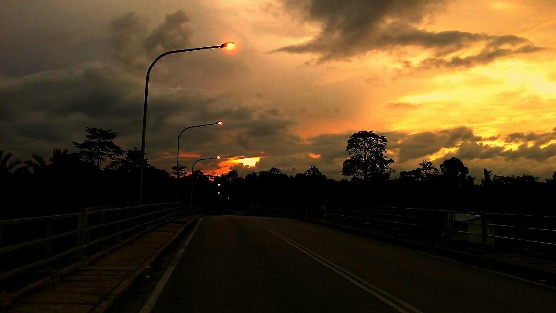 Dalat Bridge. Before #night comes.... #sunset #nature #photography