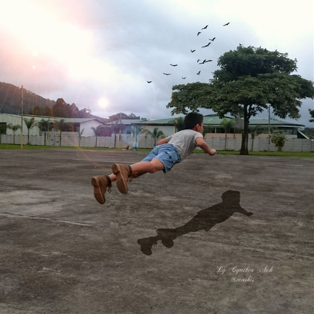 #levitate #lensflare #editstepbystep #layers #clipart #fly #pencilart #photography