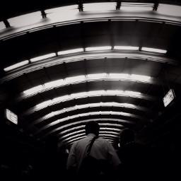 blackandwhite subway moscow