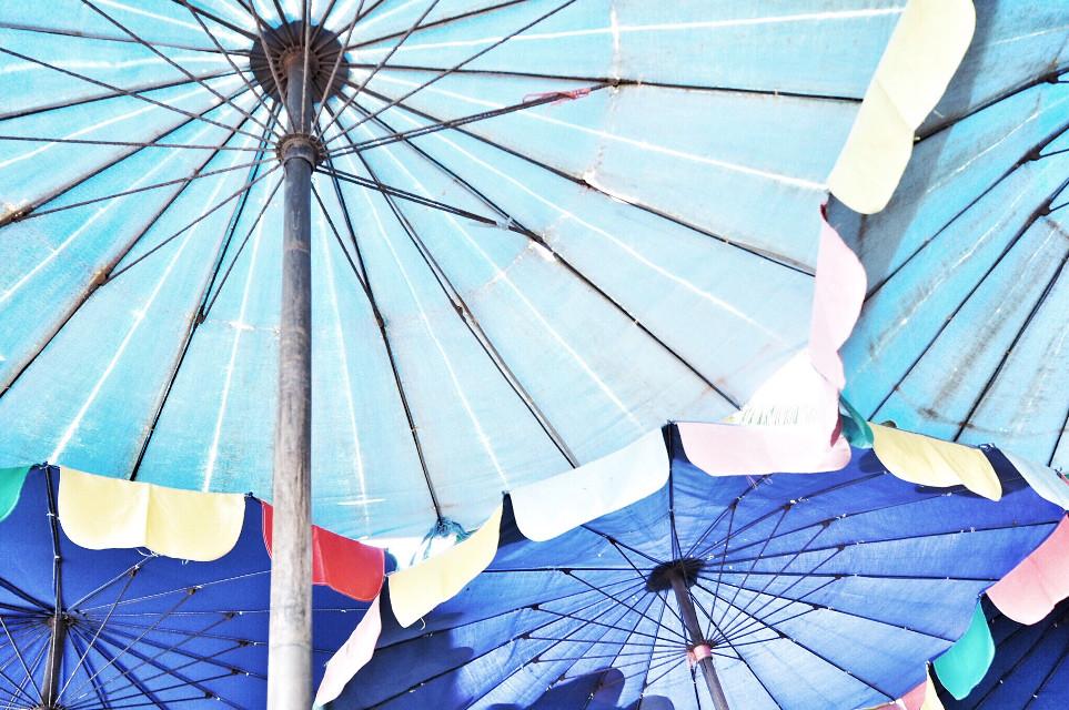 4 shades of blue~      #photography   #colorful   #sunnyday   #free  #arts