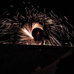 GoPro SteelWool Sparks Photography Night Hot