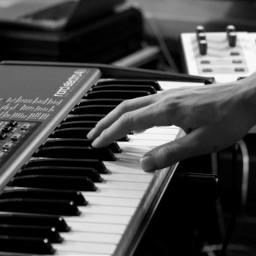 blackandwhite black monochrome people musician