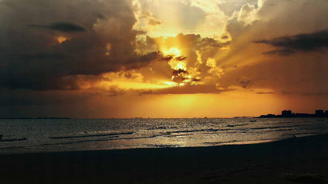 #Sky #sunset #beach #photography #nature #emotions