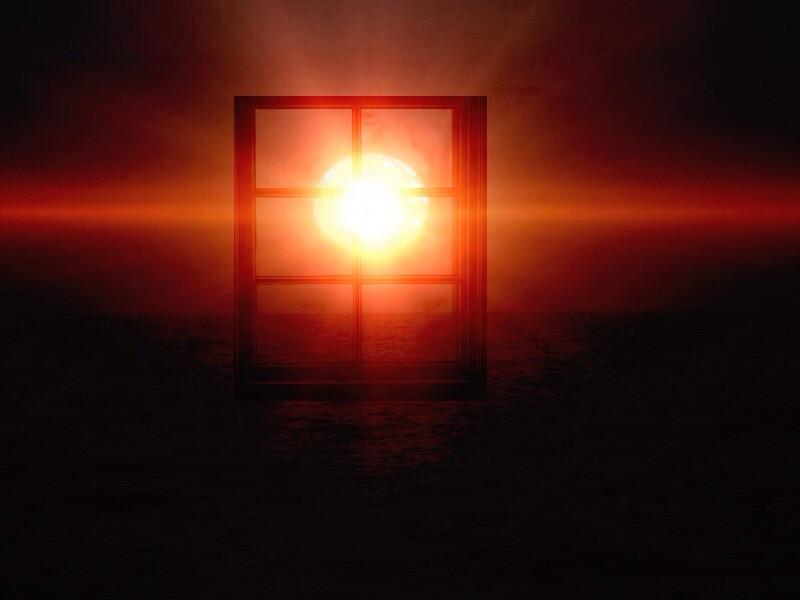 #window #sunset #photography #edit