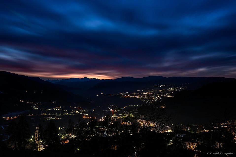 #ValDiFiemme #Tesero #Trentino #Tramonto