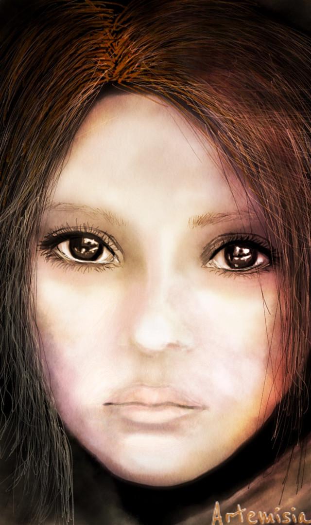 #wdpportrait #drawing #digitalart #people #emotions #eyes