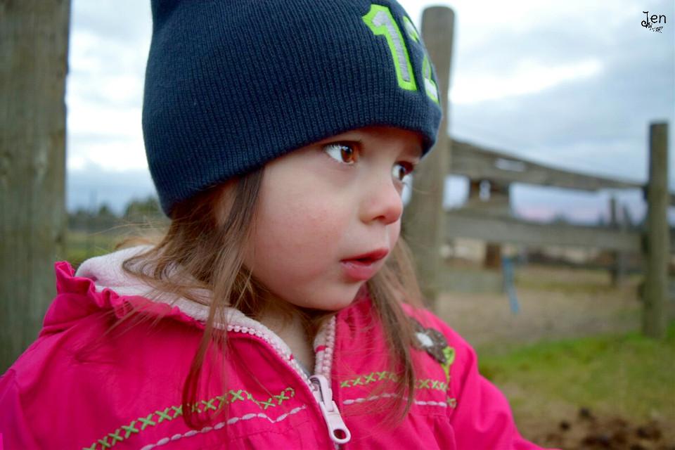 My beautiful niece. 💜 #cute #love #people #photography #winter  #niece