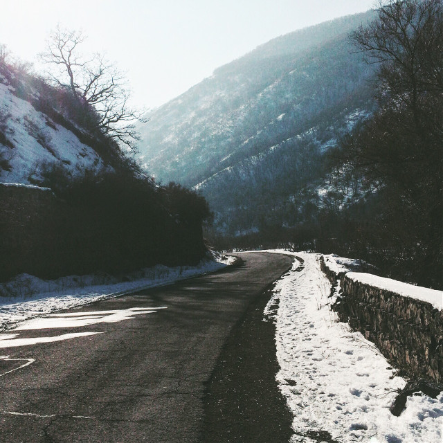 #freetoedit #armenian #nature #landscape #mountains #road #light #snow #winter #trees #Aghveran #dreamspace #majestic #place #wonderland