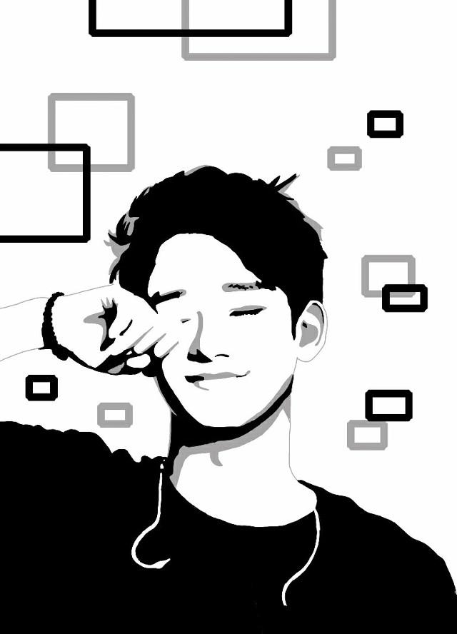 Follow me on instagram @ryscorpio #chen #exo #art #fanart
