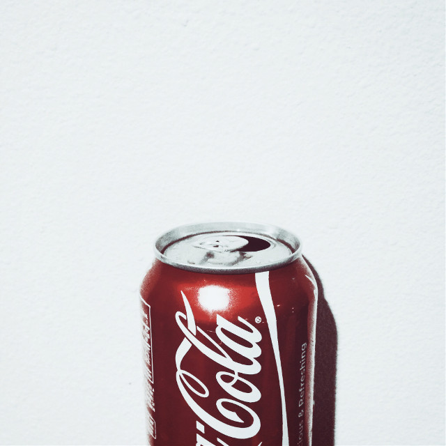 #coke #red #can