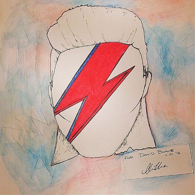 final good bye David Bowie