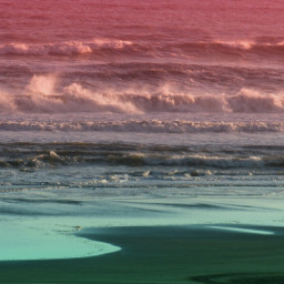 beach colorful nature people photography