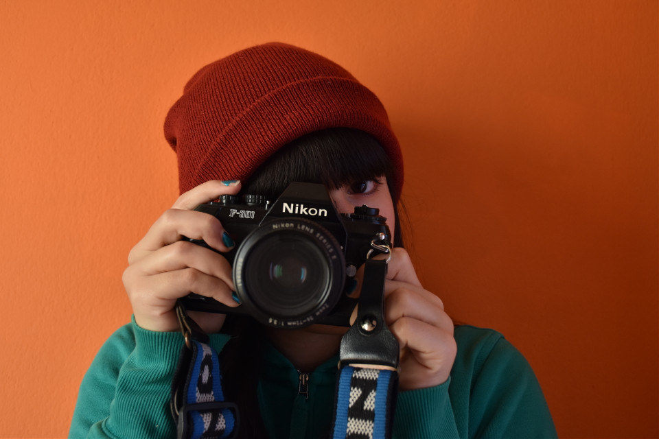 This is my mother's old Nikon F-301 and I just love it!! #colorcontrast #colorful #photography