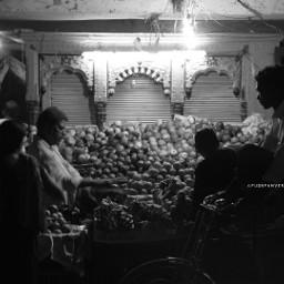 monochrome nikon d7200 india night