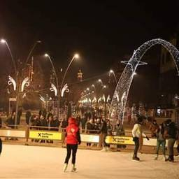 korca_city albania winter christmas_time love