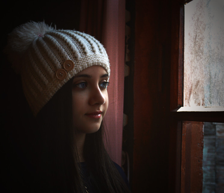 #window #light #blue #eyes #photography #art #retro #emotions #house #people