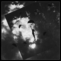 umbrella blackandwhite