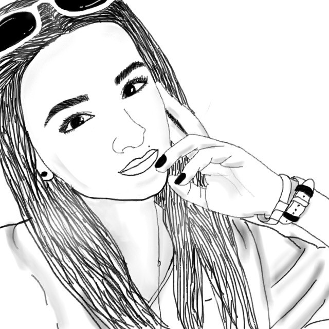 @denisainter #art #girl #romania #bff #drawing