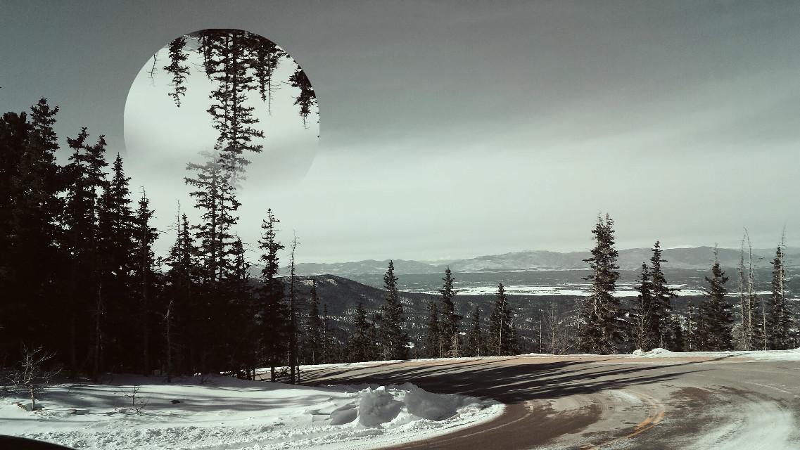 #nature #photography #retro #snow #travel  Pikes Peak Colorado