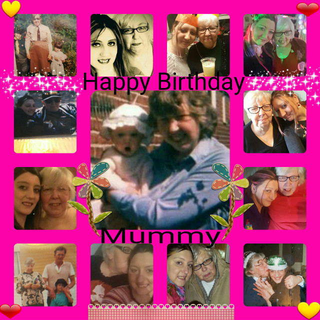 Happy Birthday to my beautiful amazing mummy 😍😍😍 I love you so so much I wouldn't be who I am if it wasn't for you, Thank you for always being there for me jo matter what I love you beyond words 😊 I'm so proud to call you my mummy 😘😘😘 and so proud to av my babies call you nana 😊😊❤❤💓💓 love you always!! have a great day 💛❤💛❤💛❤ #birthdaygirl #lovemymummy #prouddaughter #specialmum #myrock #lucky #privlidged