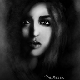 wdpwomenportraits drawing blackandwhite
