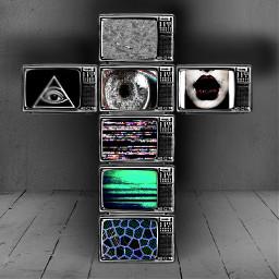 artcreater create tvnoiseart artwork albumcover