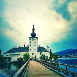 photography castle cloudy way to