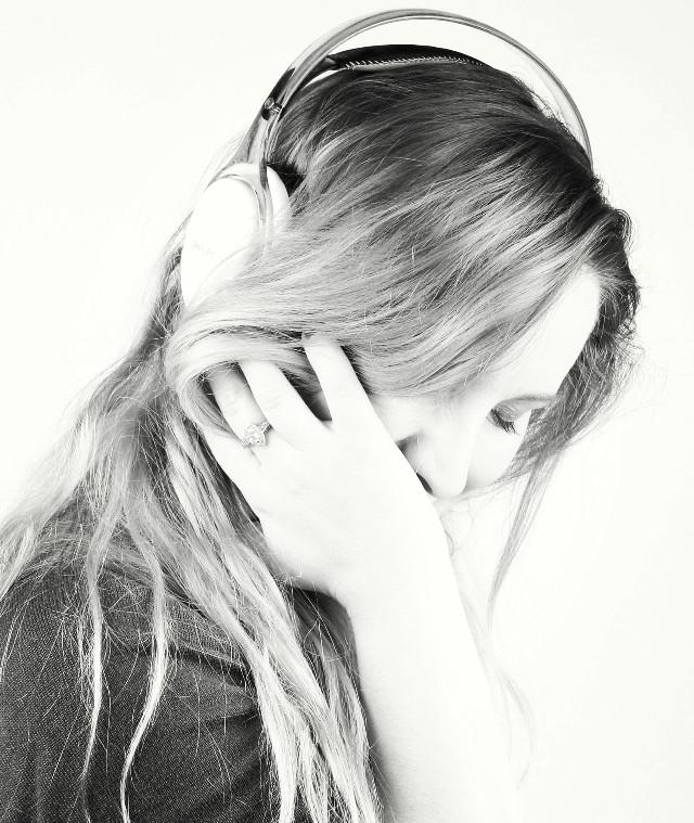 Need music autoportrait   #blackandwhite #emotions #love #people #photography