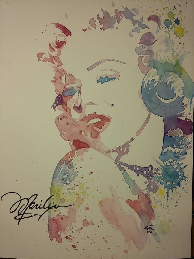 """""""Watercolors Are A Girls Best Friend""""   Watercolor Painting By Justin Frehs"""
