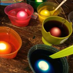 eggs dye color