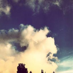 clouds wanderlust sky freedom