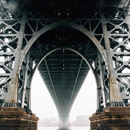 freetoedit city bridge building fog