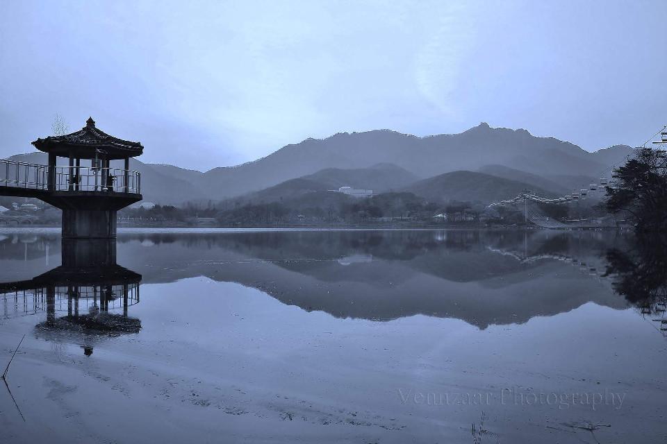 #nature #reflection  #travel  #southkorea