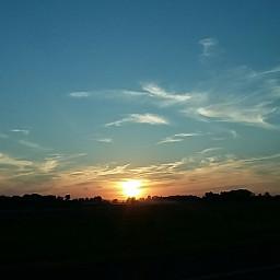clouds dailyinspiration sun sunset blue