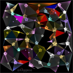 create effect polygon polygoneffect colorful