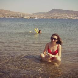 sea sun me girl