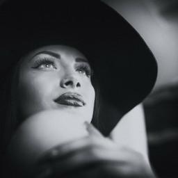 blackandwhite art beauty model vintage
