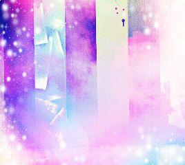 galaxy purple sparkle dream freetoedit