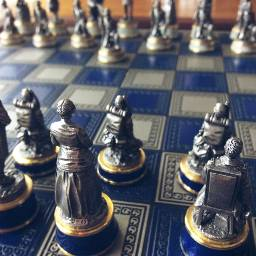 chess games chesspieces models people