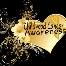 freetoedit september childhoodcancer gogold