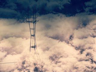 clouds sky goldengatebridge sanfrancisco mycity