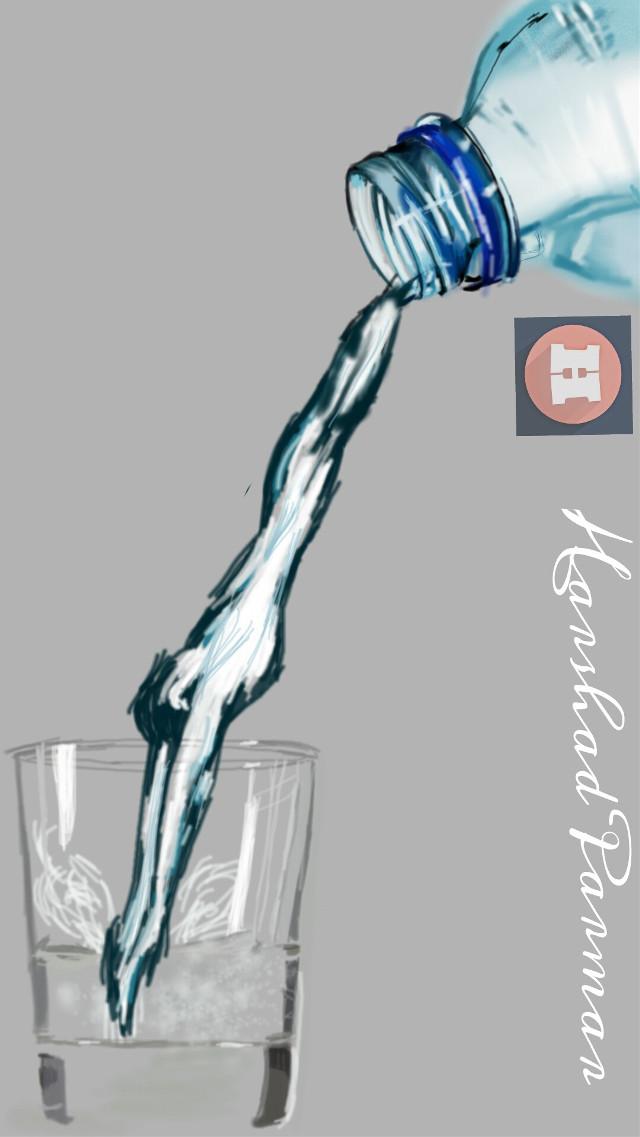 #Bringtolife#not for contest#drawing# picsart tools Hope u all like it