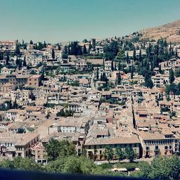 spain granada albaicin city andalucia